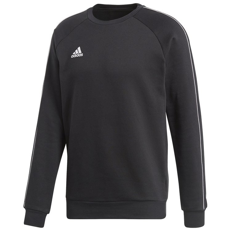 Bluza męska adidas Core 18 Sweat Top czarna bez kaptura