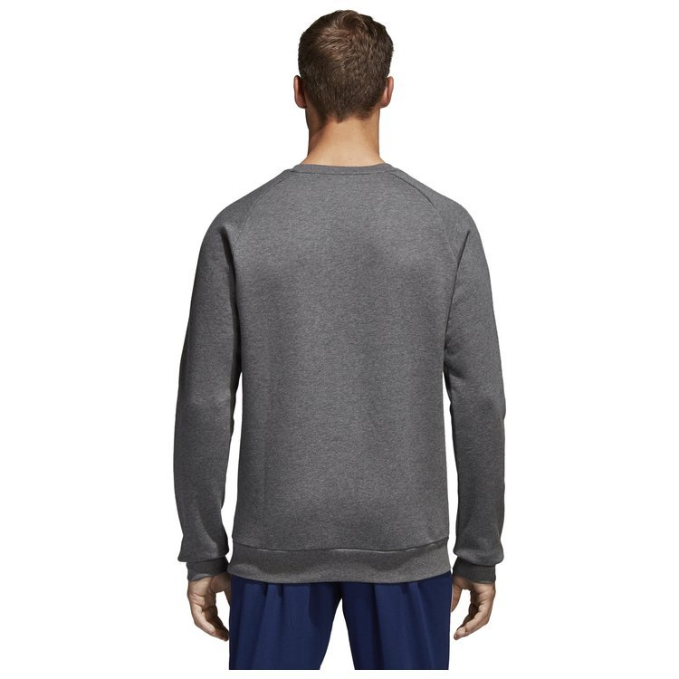 Bluza męska adidas Core 18 Sweat Top szara bez kaptura