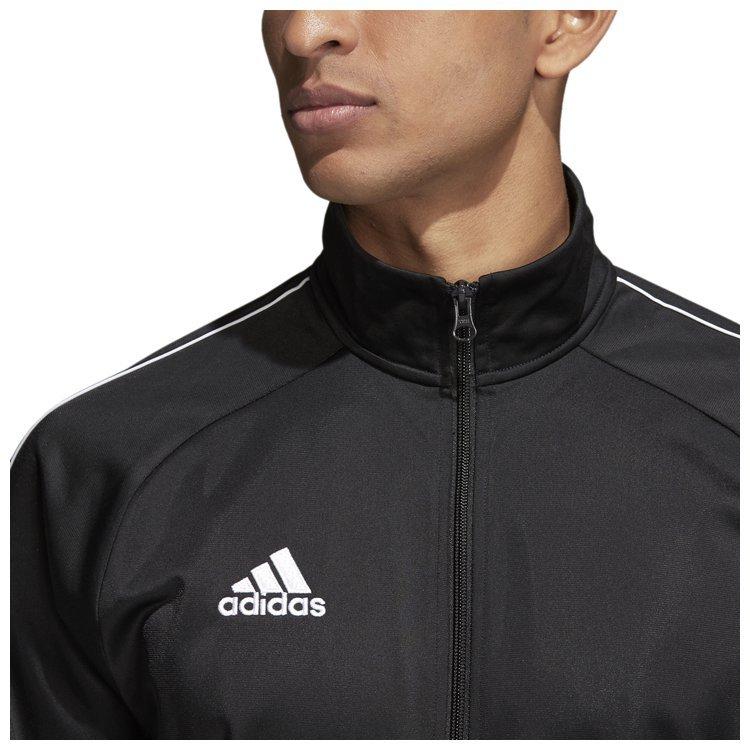 cienie gdzie kupić odebrać Bluza męska adidas Core 18 czarna na zamek - sklep sportowy ...
