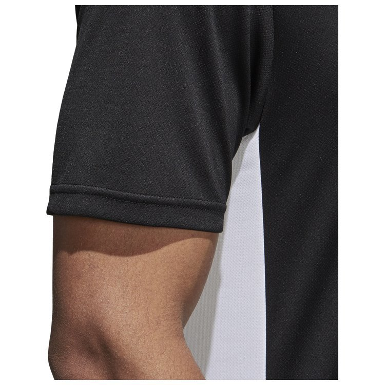 Koszulka męska adidas Entrada 18 czarna piłkarska, sportowa