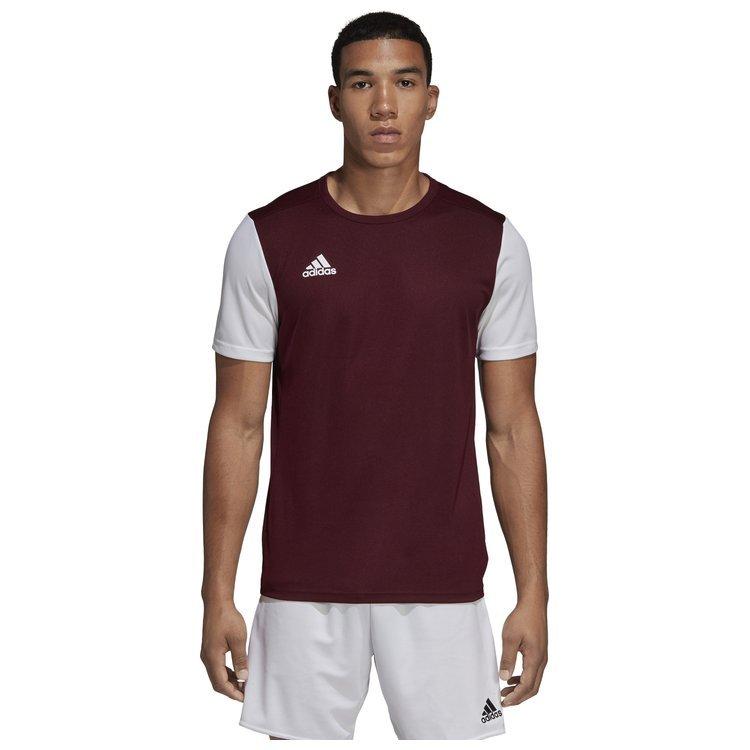 Adidas Koszulka Męska Treningowa Bordo