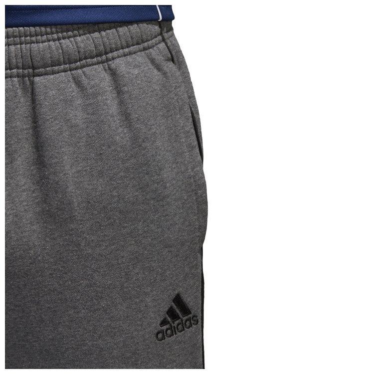 Spodnie dresowe męskie adidas Core 18 szare bawełniane