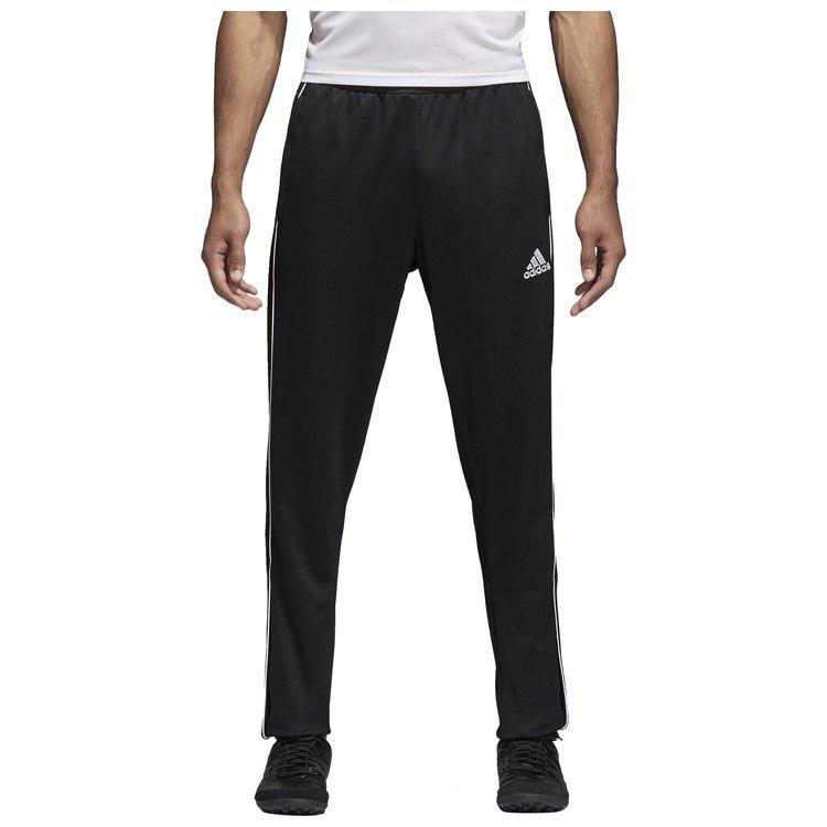 Spodnie treningowe męskie adidas Core 18 czarne sportowe