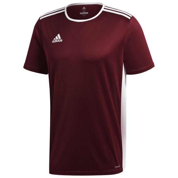 6c03123587dd0 Koszulka męska adidas Entrada 18 bordowa piłkarska, sportowa - sklep ...