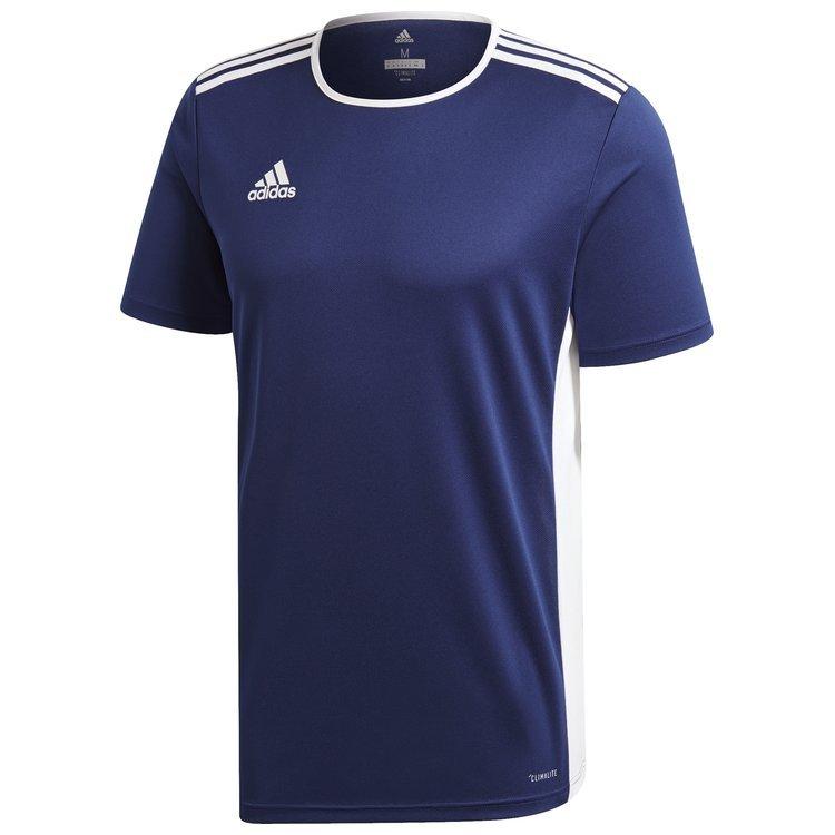 3cf1743fdc8196 ... Koszulka męska adidas Entrada 18 granatowa piłkarska, sportowa ...