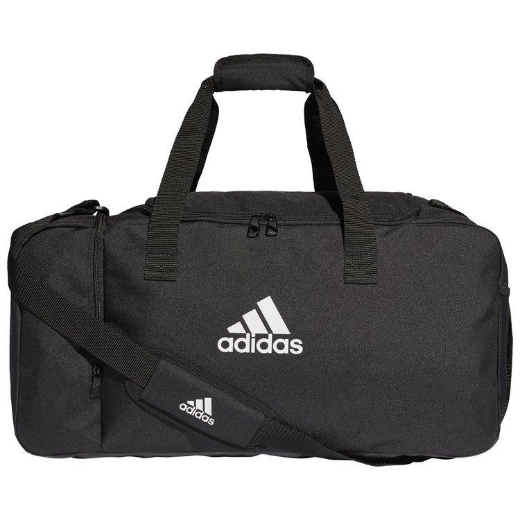 e9f7846aa700a ... Torba sportowa adidas TIRO czarna na ramię treningowa średnia ...