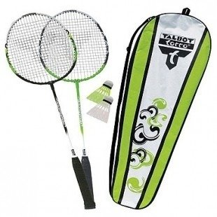 BADMINTON ATTACER 2 SET ZESTAW DO GRY TALBOT TORRO